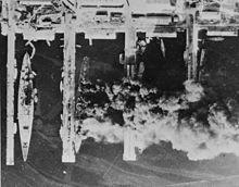 Tolon (Francia) hundimiento de flota francesa.