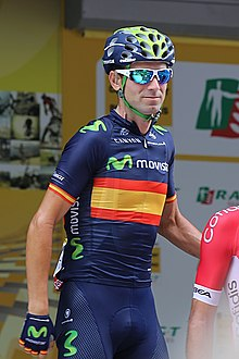 38022585e Valverde at the 2015 Tour de France.