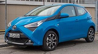 Toyota Aygo Motor vehicle