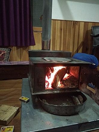 Wood-burning stove - Traditional Himalayan Tandoor
