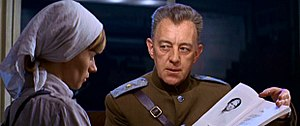 Alec Guinness - Guinness with Rita Tushingham in Doctor Zhivago