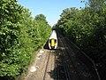 Train speeding away from Whitstable - geograph.org.uk - 1446365.jpg