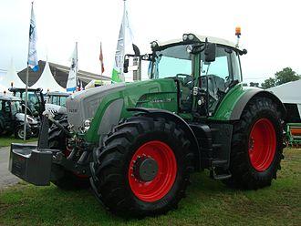 AGCO - Fendt 930 Vario tractor, in 2009