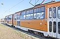 Tram in Sofia in front of Central Railway Station 2012 PD 065.jpg