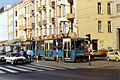 Tram station in Wroclaw, November 1989.jpg