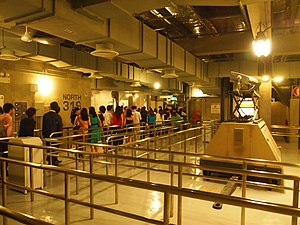 Transformers: The Ride - A portion of the queue at Universal Studios Singapore