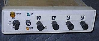 Air traffic control radar beacon system - A light aircraft transponder