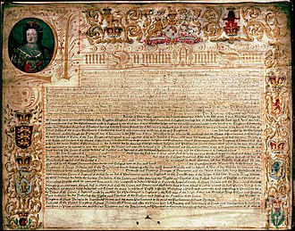 Treaty of Union - Scottish exemplificion of the Articles of Union