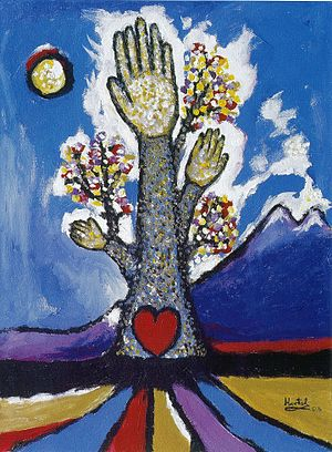 Paul Hartal - Image: Tree of Life with Six Fingers; 2003 hi res