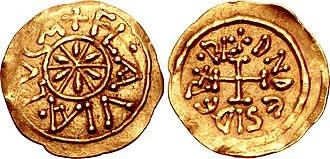 Desiderius - A gold tremissis of Desiderius minted at Lucca