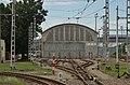 TrenčianskaTeplá TREŽ CarShed catenary.jpg