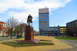 Zrenjanin City in Vojvodina, Serbia