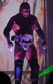 triple h making his entrance with the wwe which he has won nine times