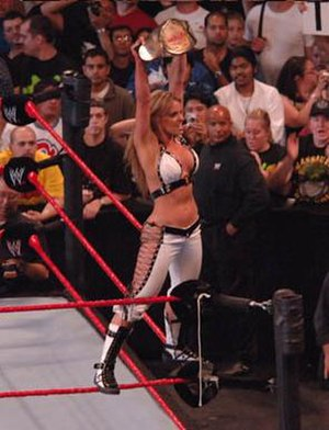 WrestleMania 22 - Trish Stratus as the WWE Women's Champion