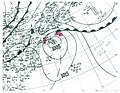 Tropical Storm Five surface analysis 1943.jpg