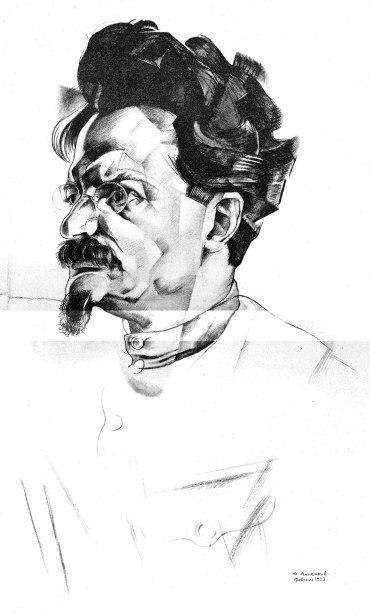 Trotsky-Annenkov 1922 sketch