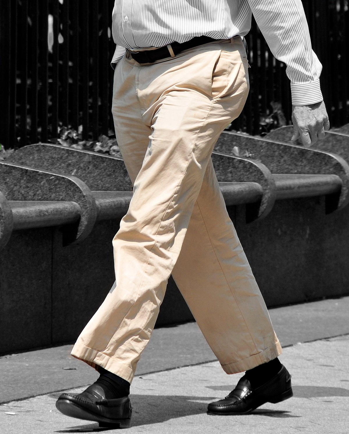 Mens Gray Pants And Brown Shoes