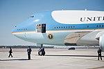 Trump visits MacDill Air Force Base (32376482310).jpg