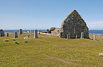 Battle of the Spoiling Dyke - The ruins of Trumpan Church
