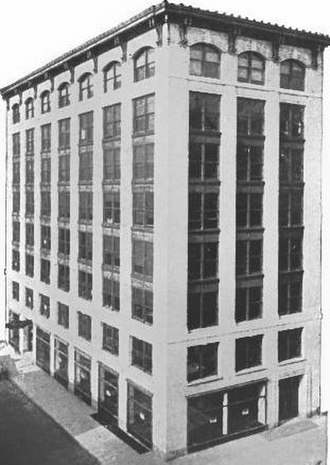 Trussed Concrete Steel Company - Trussed Concrete company building in Detroit, circa 1910