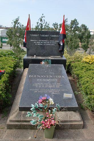 Buenaventura Durruti - Image: Tumba Durruti