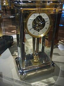 Stimmgabeluhr wikipedia - Mecanismo para reloj de pared ...