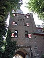 Turm, Burg Efferen IC000101.JPG