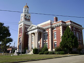 Turner County, Georgia - Image: Turner County Courthouse from SE corner