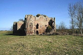 Twizell Castle - Image: Twizel Castle geograph.org.uk 1202957