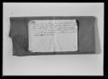 Tygstycke, souvenir från mordet på Gustav III 1792 - Livrustkammaren - 44826.tif
