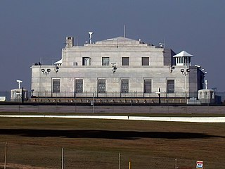 Fortified vault building located adjacent to the United States Army post of Fort Knox, KY