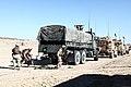 U.S. Marines with Transportation Support Company, Combat Logistics Regiment 2, 2nd Marine Logistics Group, undergo realistic training in an urban environment during Enhanced Mojave Viper (EMV), on Marine Corps 120917-M-KS710-023.jpg