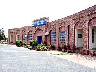 Vehari City in Punjab, Pakistan