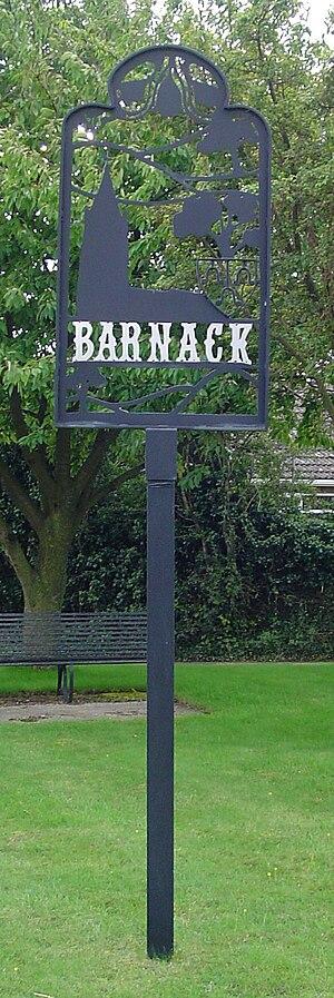 Barnack - Village sign