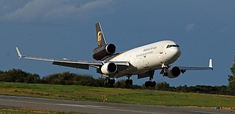 "UPS Airlines - McDonnell Douglas MD-11F (""synchronizing the world of commerce"" livery)"