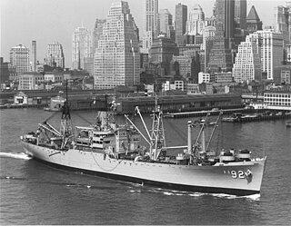 USS <i>Wyandot</i> (AKA-92) Andromeda-class attack cargo ship