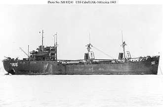 USS Cabell (AK-166) - Image: USS Cabell (AK 166)