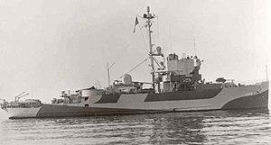 USS Inaugural (AM-242) - USS Inaugural