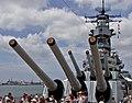 USS Missouri forward turrets.jpg