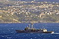 USS Nicholas departs Souda Bay. (8470064009).jpg