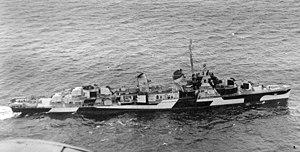USS Prichett (DD-561) - Prichett in 1944.