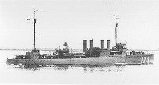 USS <i>Sproston</i> (DD-173)
