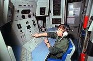 USS Ticonderoga (CG-47) forward Mark 26 missile launcher control panel