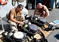 US Navy 030402-N-1131G-013 EOD personnel conduct checks on their equipment before beginning their diving operations in the Arabian Gulf.jpg