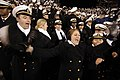 US Navy 061202-N-3642E-485 U.S. Naval Academy Midshipman cheer in the final seconds of the 107th Army vs. Navy football game.jpg