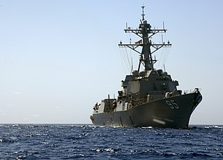 USS <i>James E. Williams</i> Arleigh Burke-class destroyer