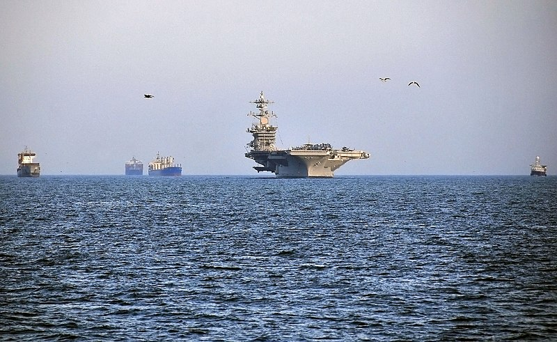 File:US Navy 100331-N-4774B-001 The Nimitz-class aircraft carrier USS Carl Vinson (CVN 70) anchors at the port of Callao, Peru, following an exercise with the Peruvian Navy.jpg