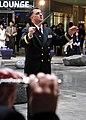 US Navy 110407-N-RO948-057 Fleet Band Master Lt. Robert Wrenn leads the U.S. 7th Fleet Band at the Changwon City Mall.jpg