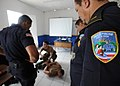 US Navy 110809-N-NY820-177 Sailors participate in a subject matter expert exchange with local police in Puntarenas, Costa Rica, during Continuing P.jpg