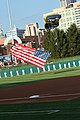 US Navy 110816-N-ZL585-093 The Leap Frogs land on Victory Field.jpg